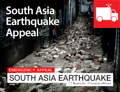 EMR - South Asia Earthquake Appeal