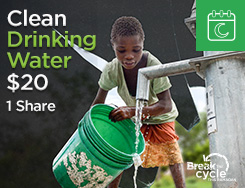RMN - Clean Drinking Water (1 share) $20