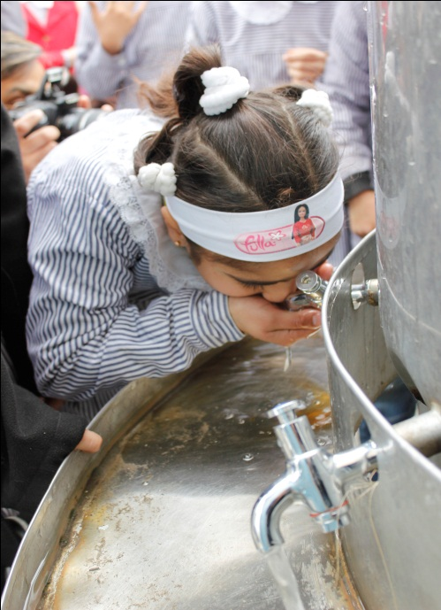 United to Provide Clean Water for Gaza