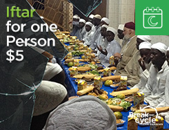 RMN - Iftar for 1 Person $5